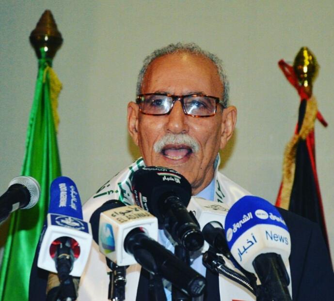 Photo of الرئيس الصحراوي يطالب الأمم المتحدة باتخاذ إجراءات ملموسة وجادة من أجل إنهاء الإستعمار من الصحراء الغربية