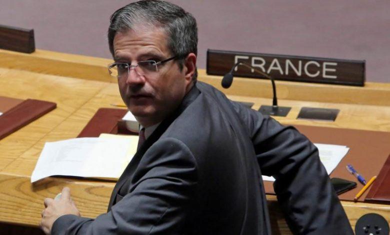 مندوب فرنسا الدائم لدى الأمم المتحدة فرنسوا ديلاتر