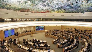 Photo of البوليساريو تحذر أعضاء مجلس حقوق الإنسان الأممي من تداعيات المشاركة في الأعمال التجارية غير القانونية في الأراضي المحتلة من الصحراء الغربية