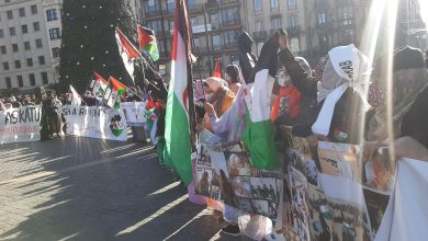 Photo of الحركة الصحراوية الباسكية تتظاهر بمدينة ببلباو لدعم كفاح الشعب الصحراوي