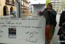 Photo of رابطة النساء الصحراويات في اسبانيا تنظم وقفة تضامنية في مدينة موندراغون.