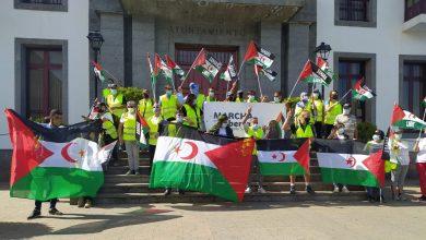 Photo of لليوم الثالث على التوالي المسيرة التضامنية مسيرة من أجل حرية الشعب الصحراوي تتواصل ببلديات ومقاطعات جزيرة تنريفي