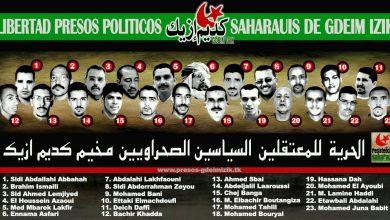 Photo of الأسرى المدنيون الصحراويون ضمن مجموعة أگديم إزيك بالسجن المحلي أيت ملول 1 يتعرضون للأهمال الطبي.